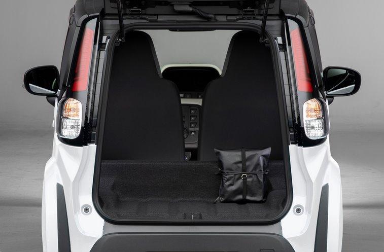 Багажник электрокара Toyota C+pod