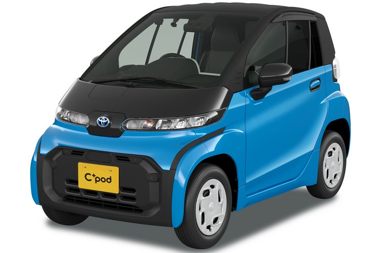 Городской электромобиль Toyota C+pod
