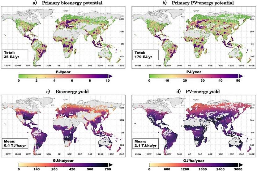 Потенциал солнечной энергетики в мире