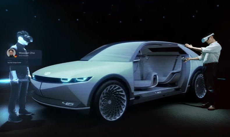 электромобиль Hyundai IONIQ 5
