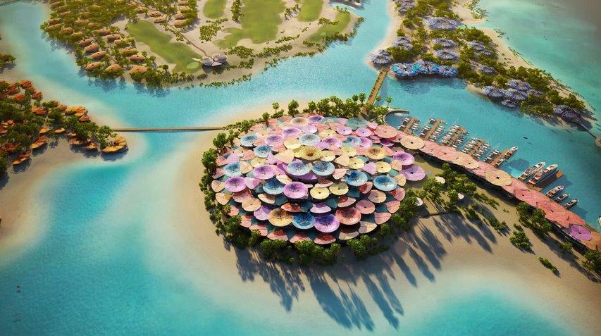 Новый роскошный курорт запитают гигантским аккумулятором на 1 ГВт от энергии солнца и ветра