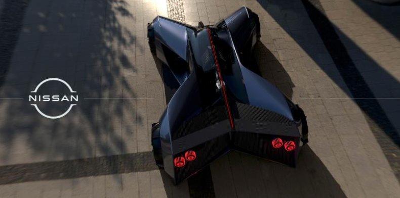 Суперэлектромобиль будущего Nissan GT-R (X) 2050 представлен в полном масштабе (видео)