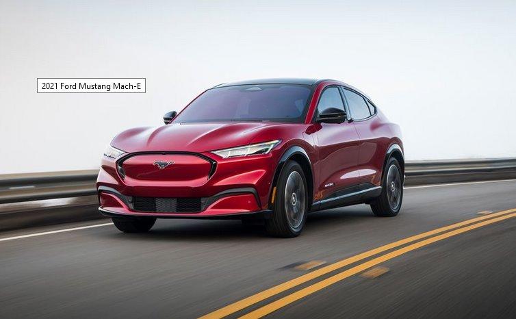 Электромобиль Ford Mustang Mach-E 2021