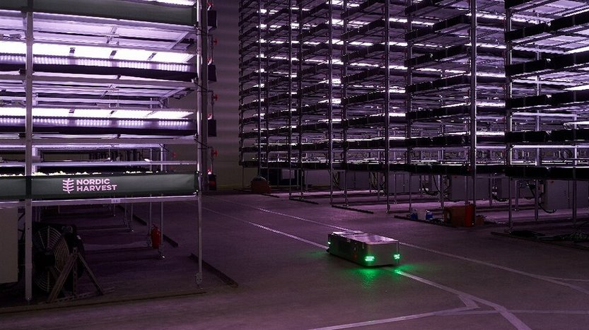 Самая большая вертикальная ферма в Европе будет питаться энергией ветра и обслуживаться роботами