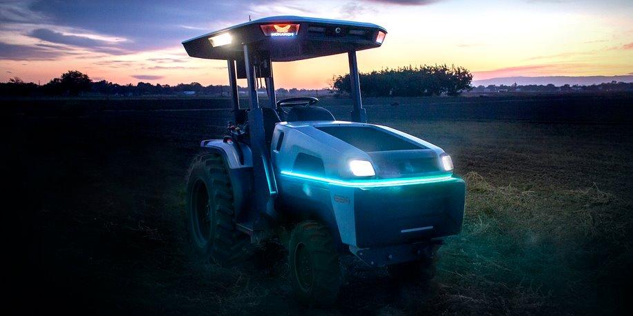 Умный электротрактор Monarch сделает фермы более прибыльными