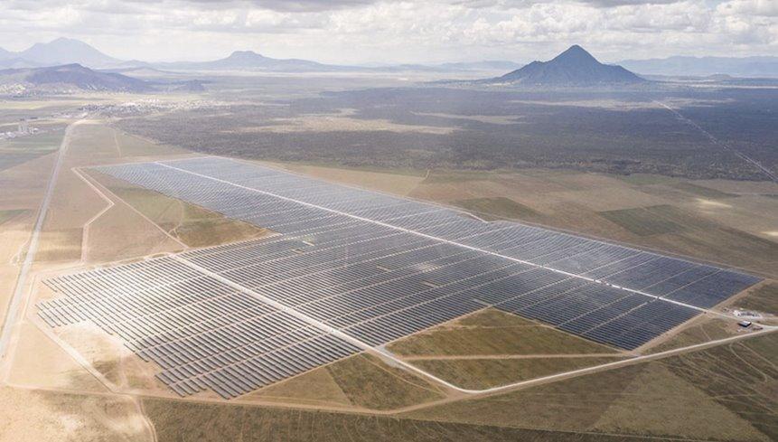Электростанция на солнечных батареях JinkoSolar