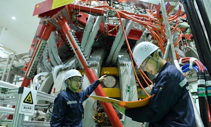 Термоядерный реактор с рекордно высокой температурой плазмы запущен в Китае