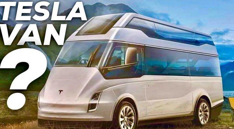 Электрический фургон Tesla