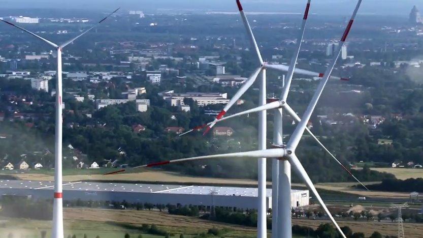 Ветрогенераторы в Европейском Союзе
