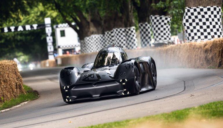 McMurtry Spirling самый быстрый и шумный электромобиль в мире (видео)