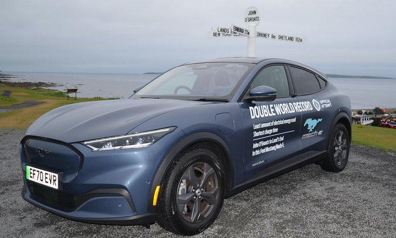 Ford Mustang Mach-E показал рекордную энергоэффективность в реальных условиях