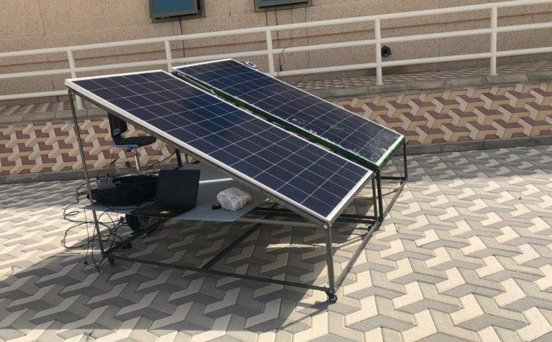 Самый эффективный метод охлаждения солнечных батарей в условиях пустыни
