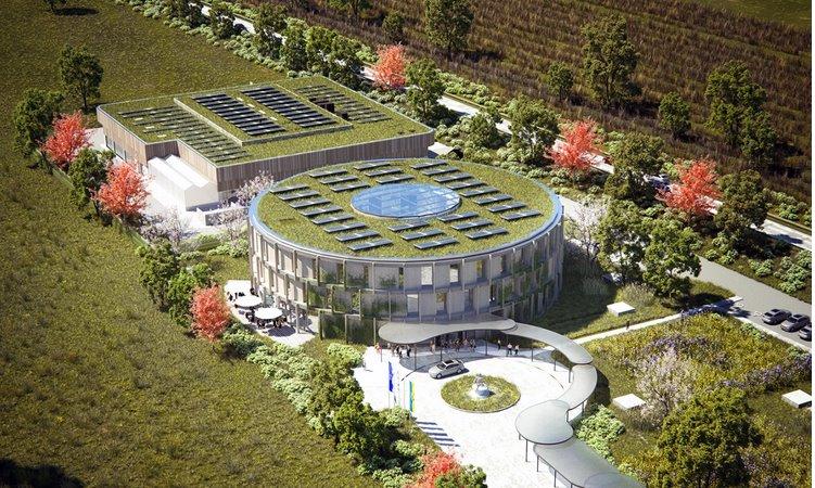 Объединить солнечную электростанцию с заправкой для водородомобилей предложила Fronius