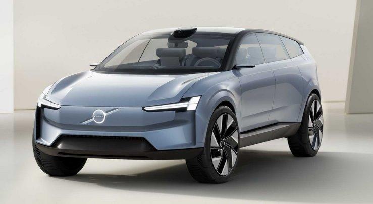 Volvo показала электромобиль нового поколения - Concept Recharge