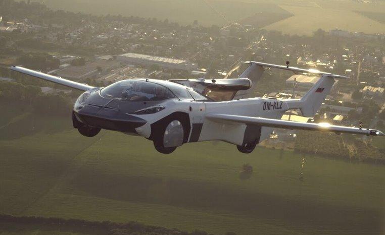Летающий автомобиль от Klein Vision выполнил первый перелет между аэропортами