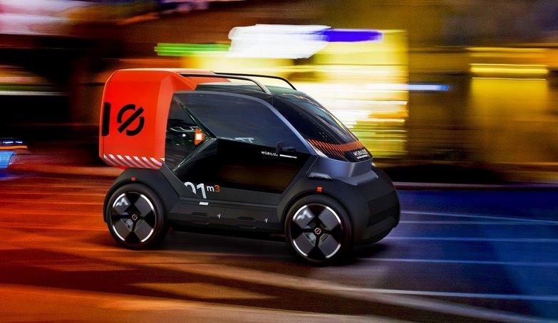 Mobilize от Renault выпустит 3 новых городских электромобиля Duo, Bento, Hippo