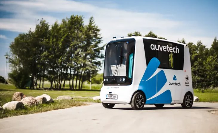 Первый беспилотный водородомобиль выедет на улицы Эстонии в июле