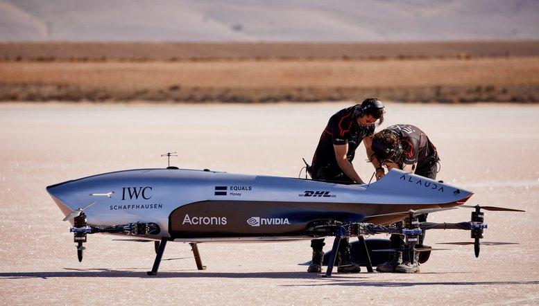 Пилотируемый гоночный дрон
