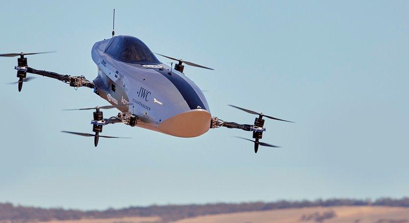 Воздушный электроболид совершил первый полет видео
