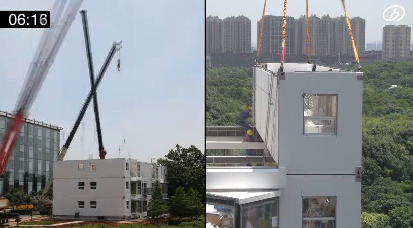 Відео: як китайці за добу будують десятиповерховий - інноваційна технологія Broad Group