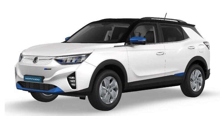 SsangYong представил свой первый электромобиль