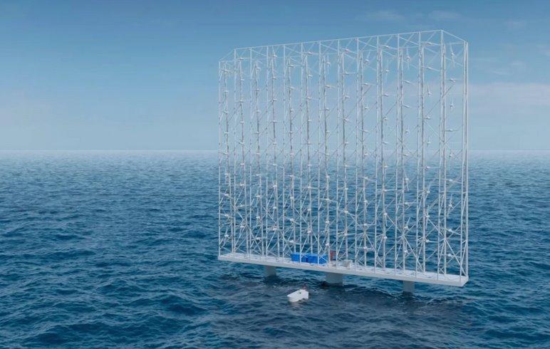 Инновационная ветроустановка