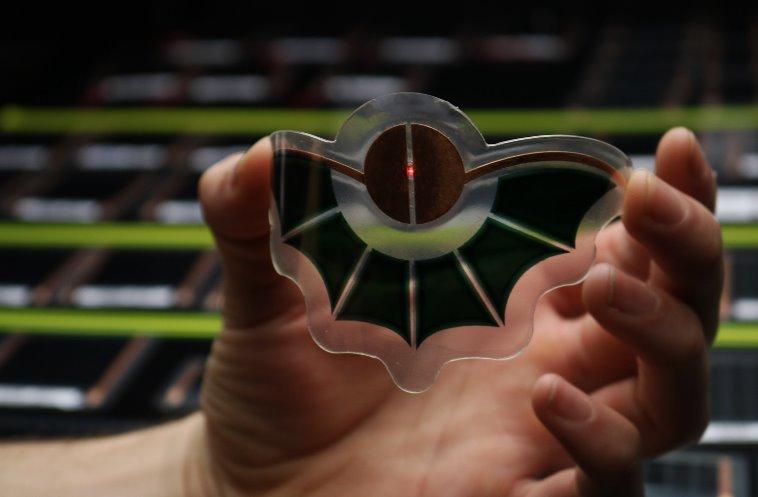 Органический фотоэлемент Dracula Technologies