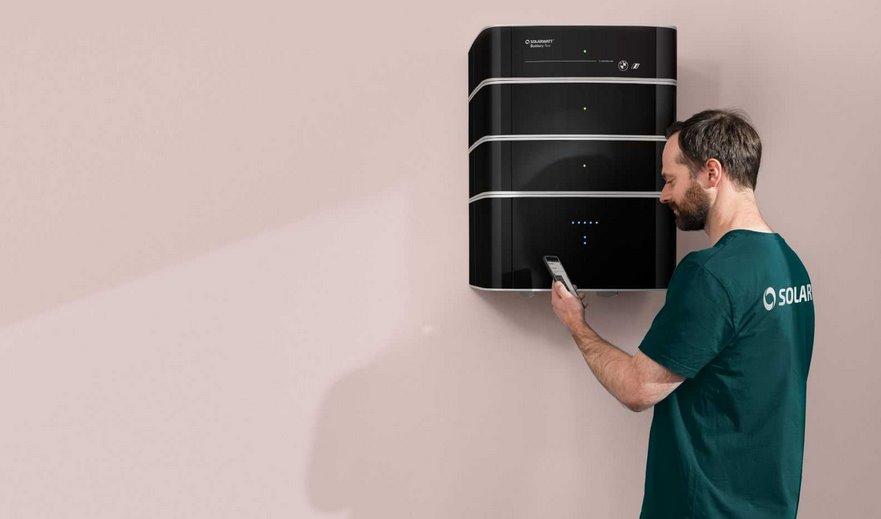Домашний аккумулятор BMW для хранения солнечной энергии