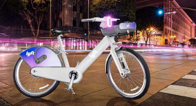 Электрический велосипед Lyft
