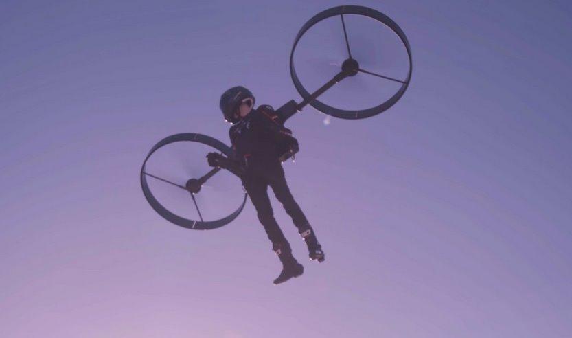 Copterpack - вертолет в ранце - предлагает экологичную альтернативу реактивным аналогам: видео - ЭкоТехника