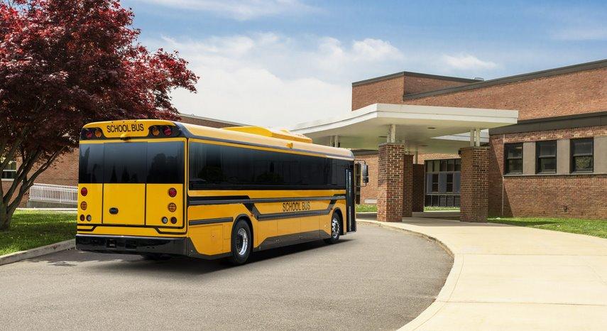 Электроавтобус с двунаправленной зарядкой