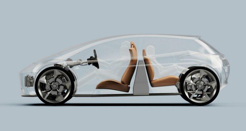 Размещение аккумулятора посреди салона электромобиля (не в днище) на 30% увеличит запас хода - ЭкоТехника