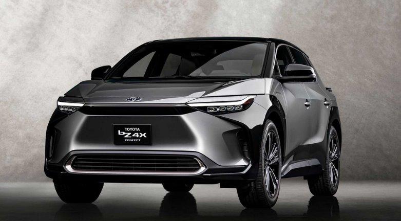 Toyota запускает электрокроссовер bZ4X для США