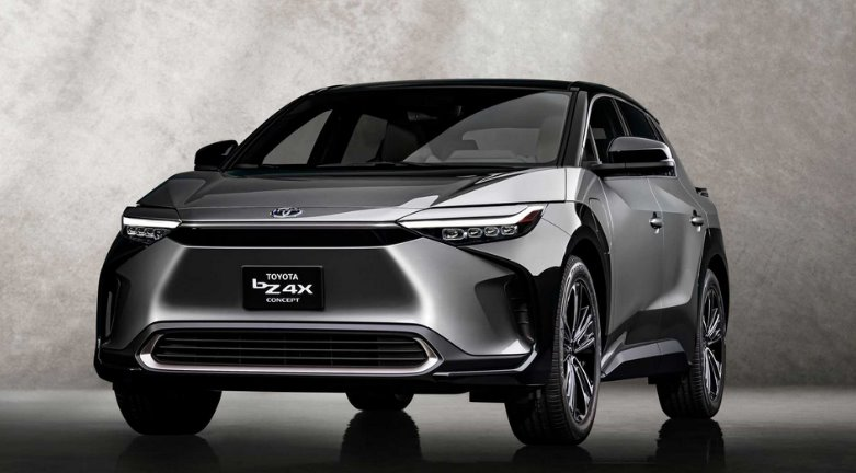 Электромобиль Toyota bZ4X