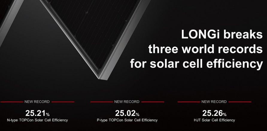 Longi солнечные панели