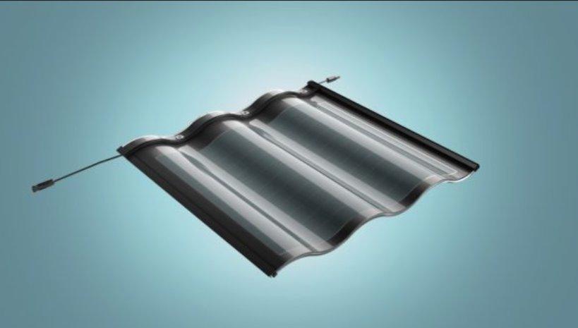 Черепичная солнечная панель