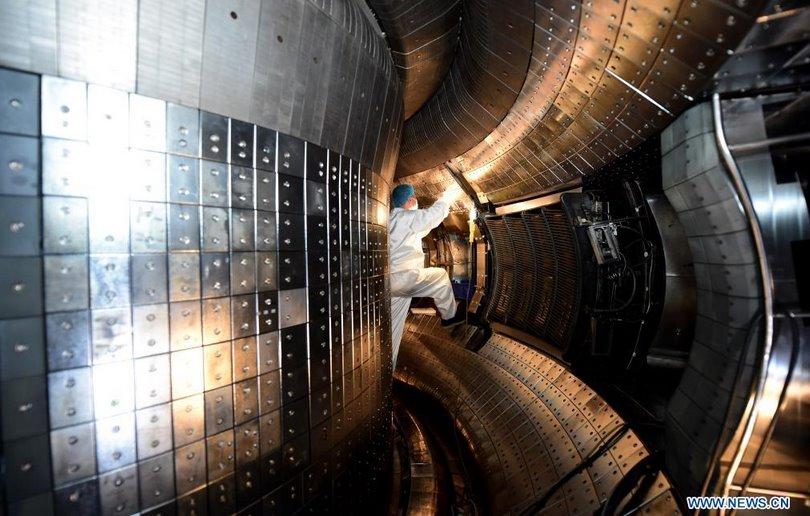 Термоядерный реактор изнутри