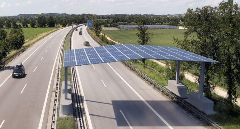 У Німеччині автомагістраль накриють сонячної дахом