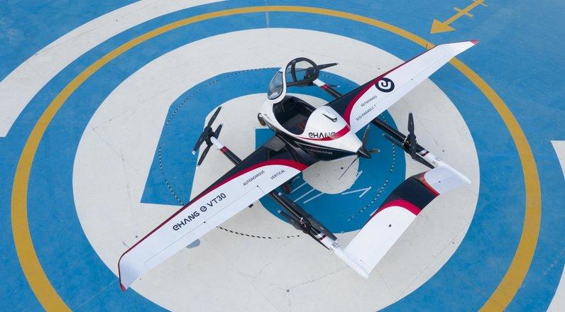 Автономное летающее такси ehang