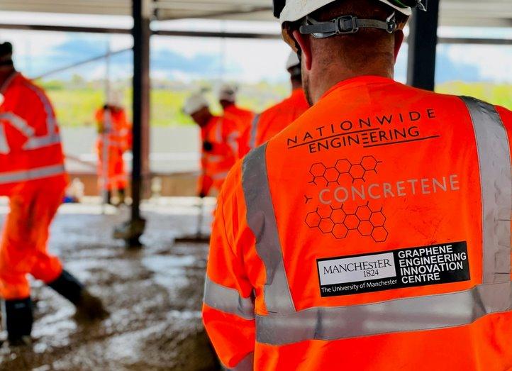 Впервые в строительстве использован бетон с графеном  так дешевле и экологичнее