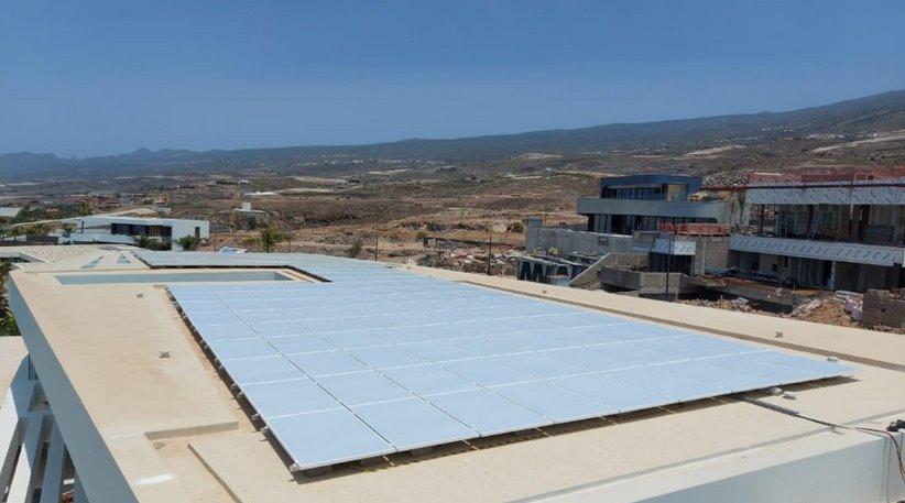 Белые солнечные панели Bisol