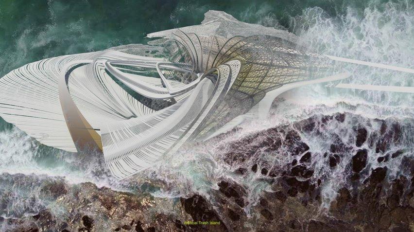 Плавучий еко-курорт збере відходи з океану