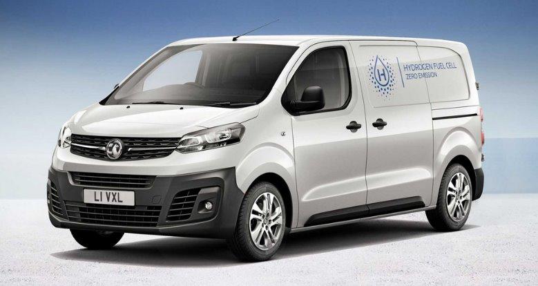 Водородный электромобиль Vivaro-e Hydrogen