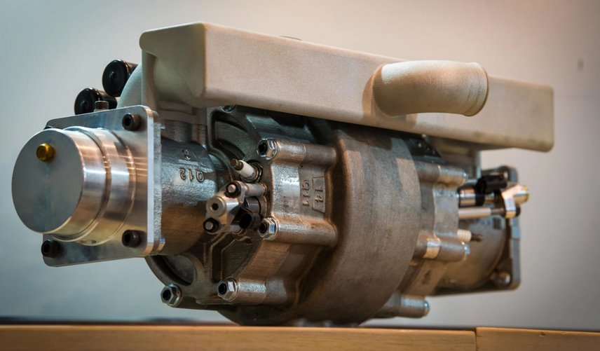 Однопоршневой ДВС на водородном топливе создала Aquarius Engines - ЭкоТехника