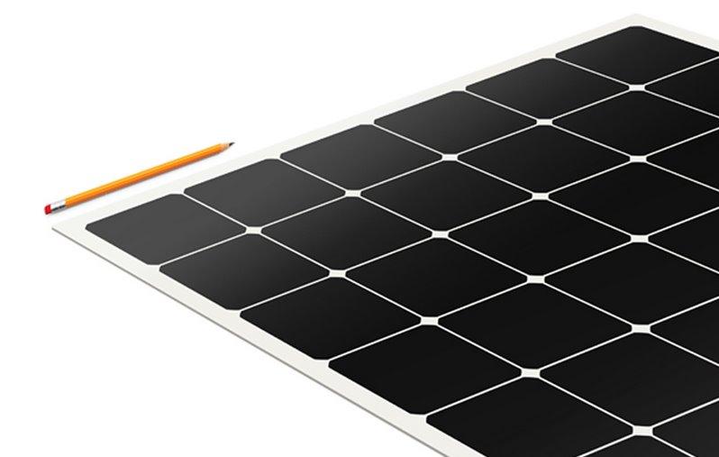 Самоклеящаяся солнечная панель