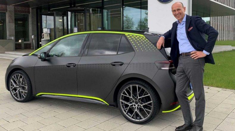 Volkswagen представил электрический хот-хэтч ID.X