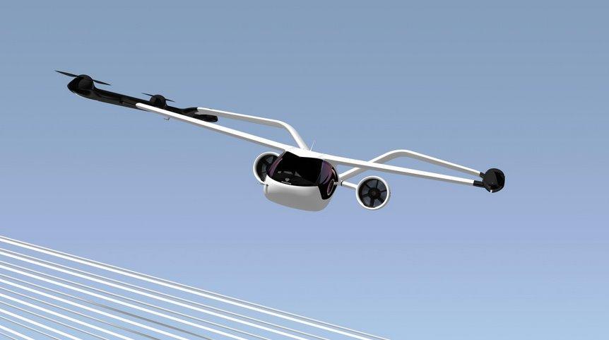 Volocopter представила новое крылатое аэротакси VoloConnect