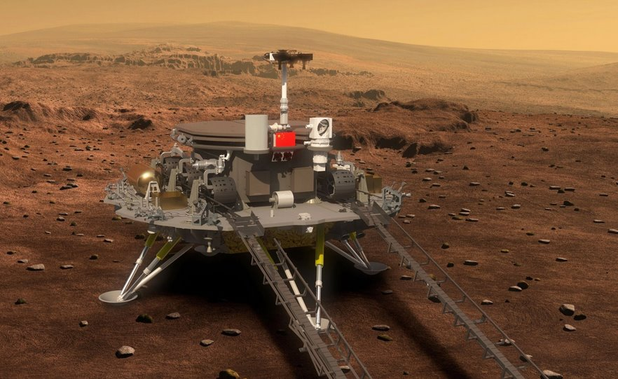 Первый китайский марсоход