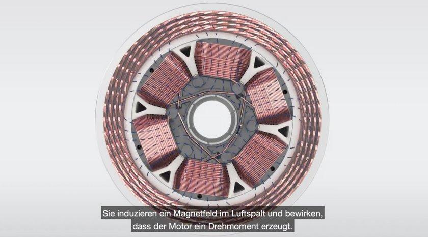 Электродвигатель без постоянных магнитов