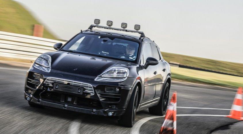 Электрический Porsche Macan отправили на дорожные тесты (видео)